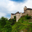 Loket town castle — Stock Photo