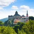 View of the castle hill in Loket  — Stock Photo