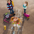Hopscotch game — Stock Photo #36200693