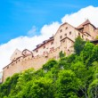 Vaduz royal castle — Stock Photo