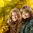 Blond kids — Stock Photo