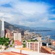 Modern part of Monaco city — Stock Photo