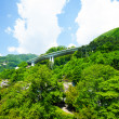 Overpass over a mountain — Stock Photo