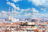 Industrial part of Vienna — Stock Photo
