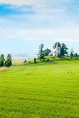 Beautiful small church in Slovakia — Stock Photo