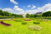 Volksgarten park in Vienna — Stockfoto