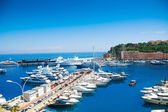 Boats and yachts in Monaco — Stock Photo