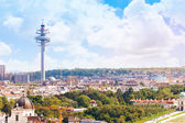 Vienna TV tower cityscape — Stockfoto