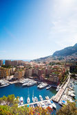 Yachts and luxury district — Stockfoto