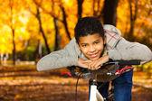 Black 10 years old boy — Stock fotografie