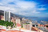 Modern part of Monaco city — Stock Photo