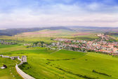 Spissky hrad village — Stock Photo
