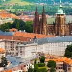 Panorama of Prague Hrad — Stock Photo #42493957
