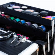 Case with makeup tools — Stock Photo