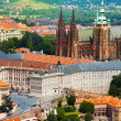 Panorama of Prague Hrad — Stock Photo