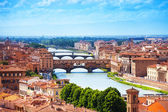 Panorama of Florence — Stockfoto