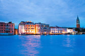 Grand canal in evening — Stock Photo