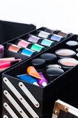 Makeup artist case — Stock Photo