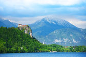 Bled castle — Foto Stock