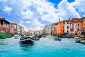 Heavy traffic of Venice — Stok fotoğraf