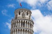 Krzywej wieży — Zdjęcie stockowe