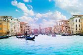 Panorama of grand canal — Stock Photo