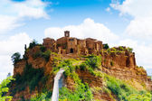 Bagnoregio town — Stock Photo