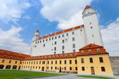 View of Bratislava castle — Stock Photo