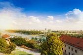 Panorama of Bratislava — Stockfoto