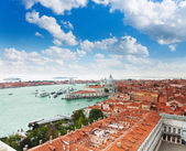 View of the central Venice — Stok fotoğraf