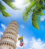 Tickets to leaning tower — 图库照片