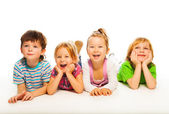 Happy kids — Stockfoto