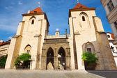 Kostel v centru Prahy — Stock fotografie