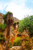 Ruins in Bagnoregio — Stock Photo