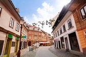 Ulica w Lublanie — Zdjęcie stockowe
