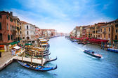 View on Grand canal — Foto Stock