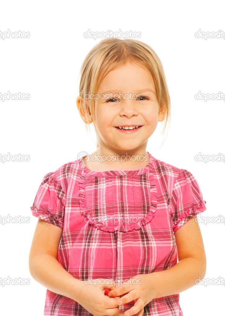 长头发的小女孩图片