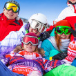 Snowboarders having fun — Stock Photo #44548027