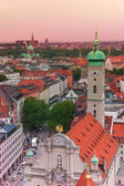 City view in Munich — 图库照片