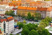 Uitzicht op de stad van münchen — Stockfoto