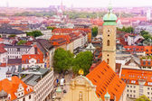 Historical buildings in Munich — 图库照片