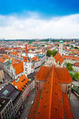 Centre view of Munich — Stock Photo
