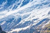 Mont Blanc mountain in Switzerland — Stock Photo