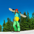 Snowboarder — Stock Photo #47609251