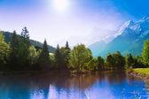 Chamonix, francja — Zdjęcie stockowe