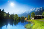 Chamonix, fransa — Stok fotoğraf