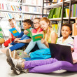 Children in library — Stock Photo #47611583