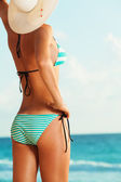 Woman in bikini — Stock Photo