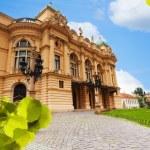 View of Juliusz Slowacki Theatre in Krakow — Stock Photo