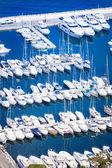 Beautiful view from top of marina in Monaco  — Stock Photo